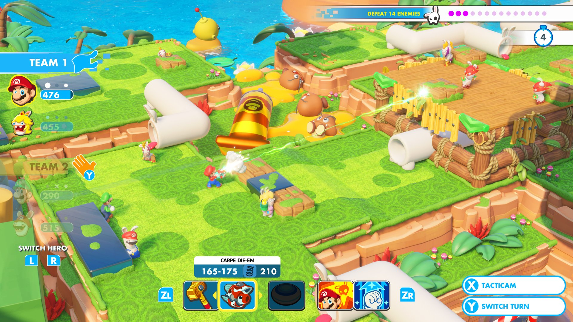 Image result for switch mario rabbids kingdom battle