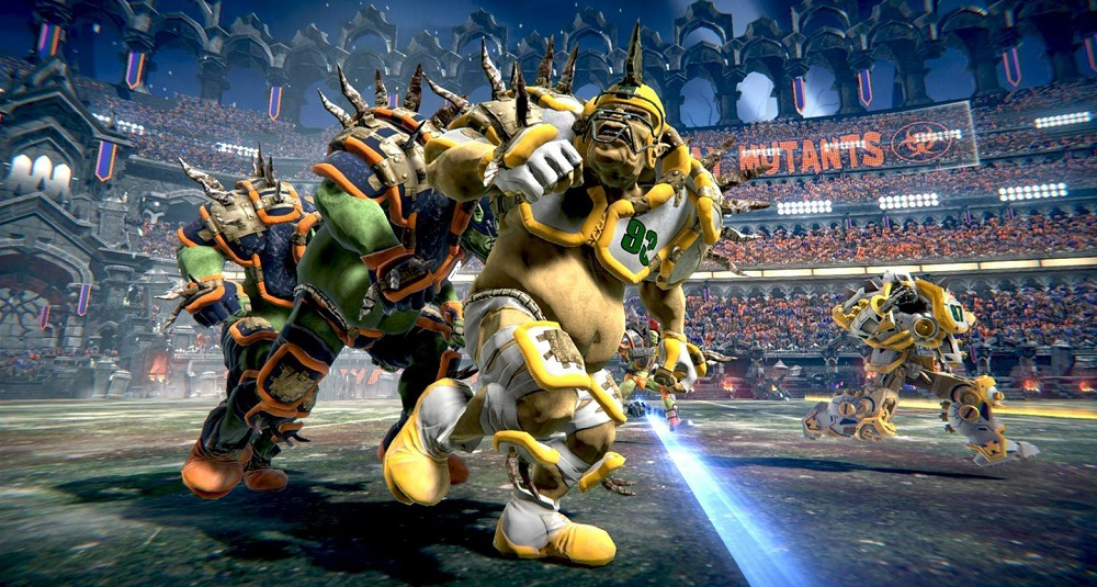 Mutant Football League touches down on PS4 and Xbox One this month screenshot