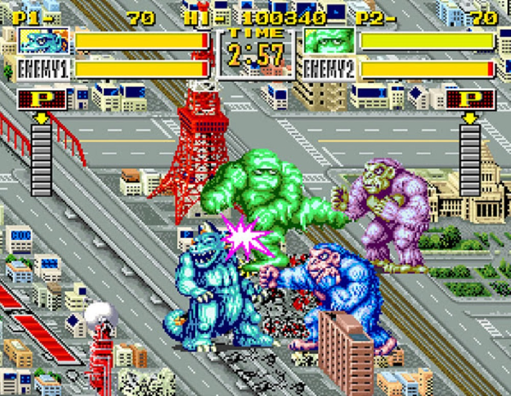 SNK's King of the Monsters returns to wreak havoc on Switch screenshot