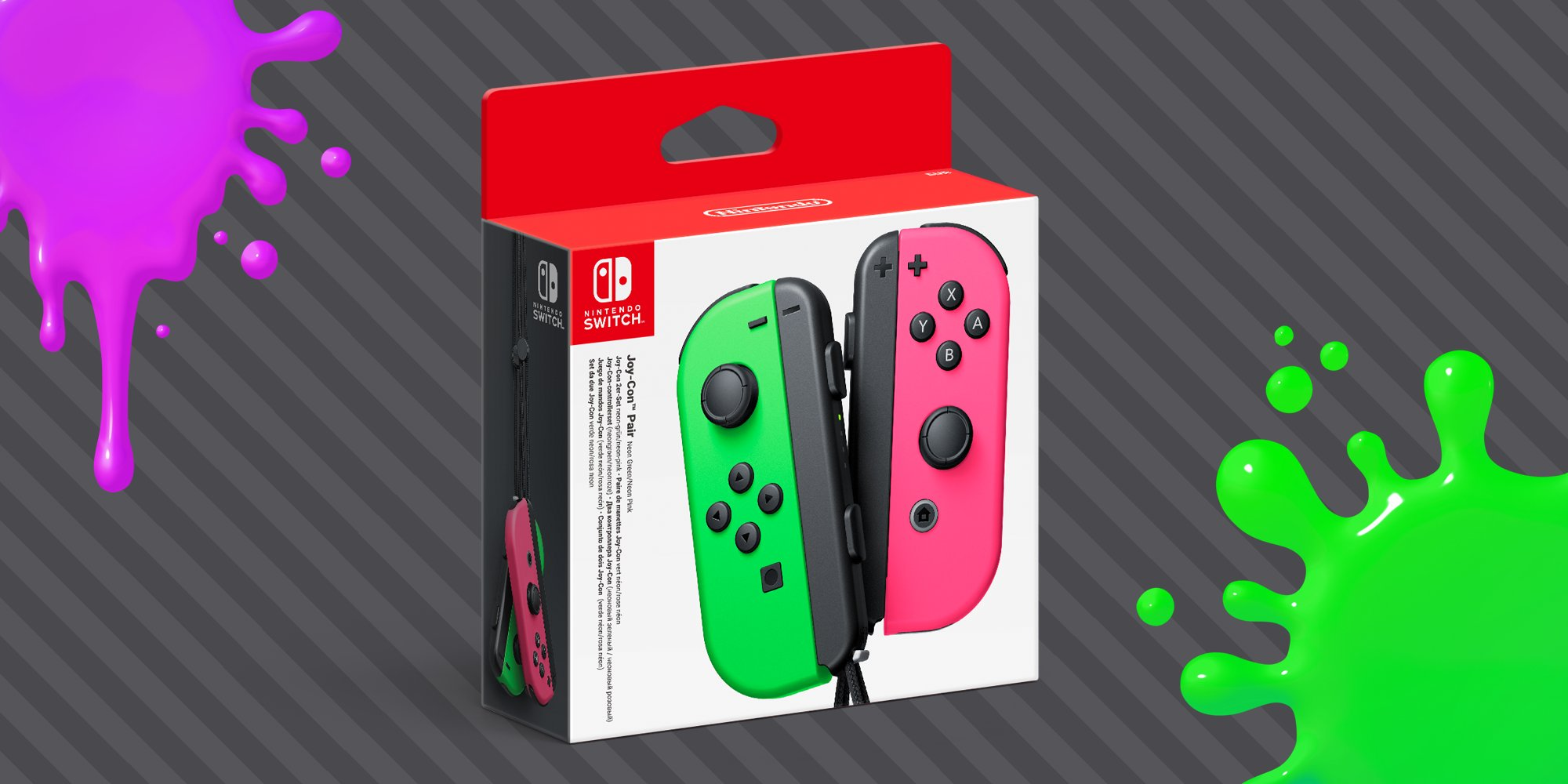 The Neon Pink/Green Joy-Con will be hitting store shelves this month screenshot
