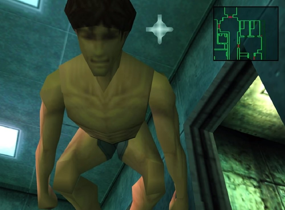 David Hayter briefly goes in-character as Snake to revisit the first Metal Gear Solid screenshot
