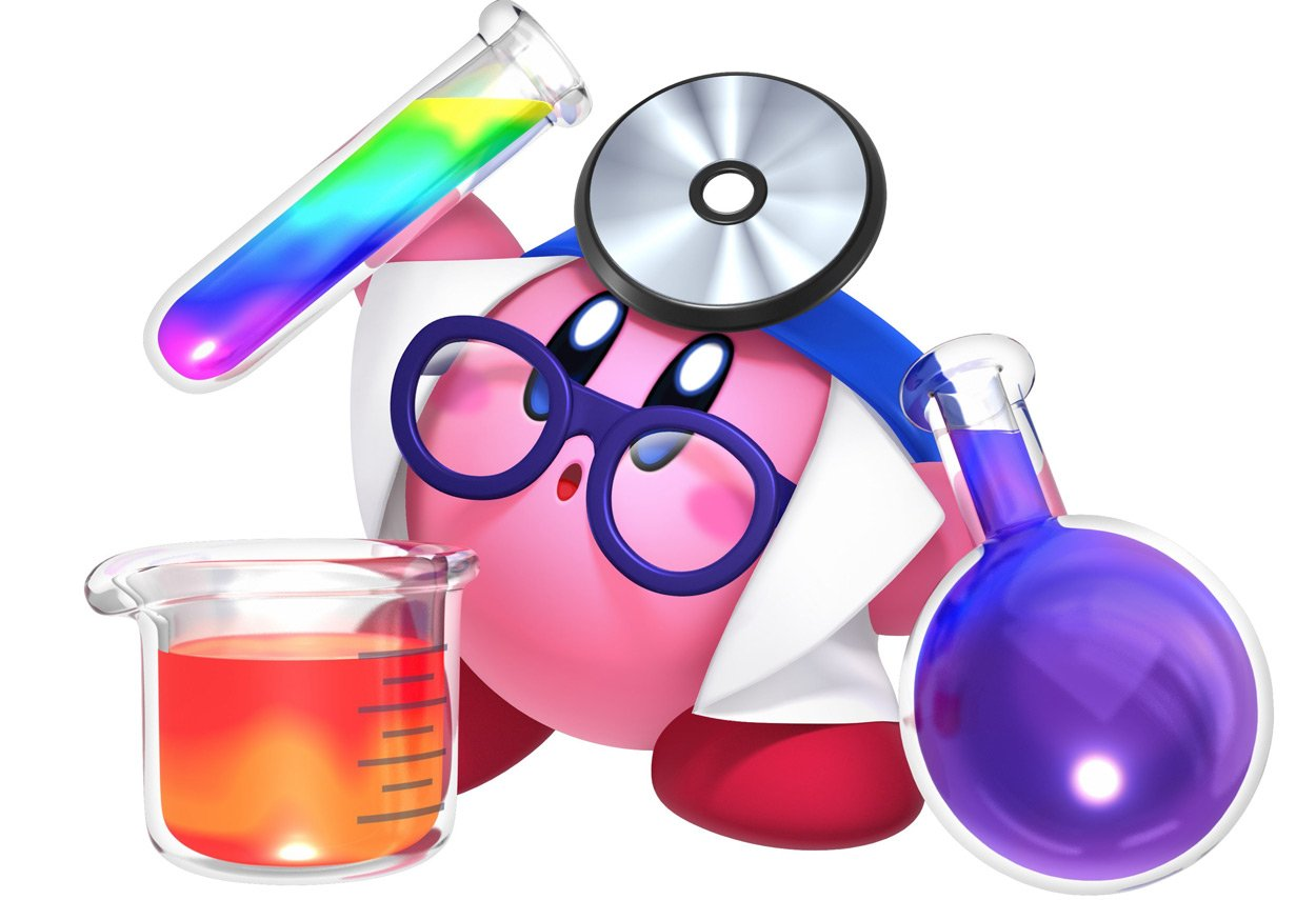 Kirby's coolest copy ability is clearly Doctor screenshot