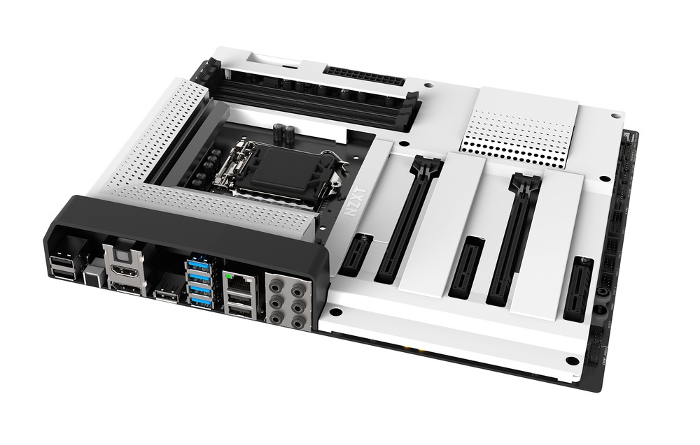 nzxt s first motherboard seems perfect for first time pc builders