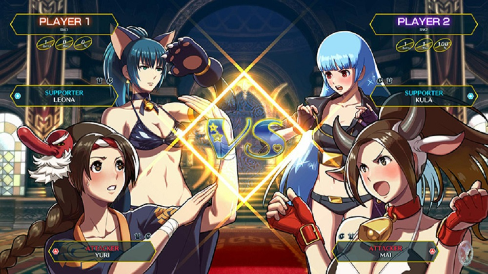 SNK Heroines: Tag Team Frenzy coming to Nintendo Switch screenshot