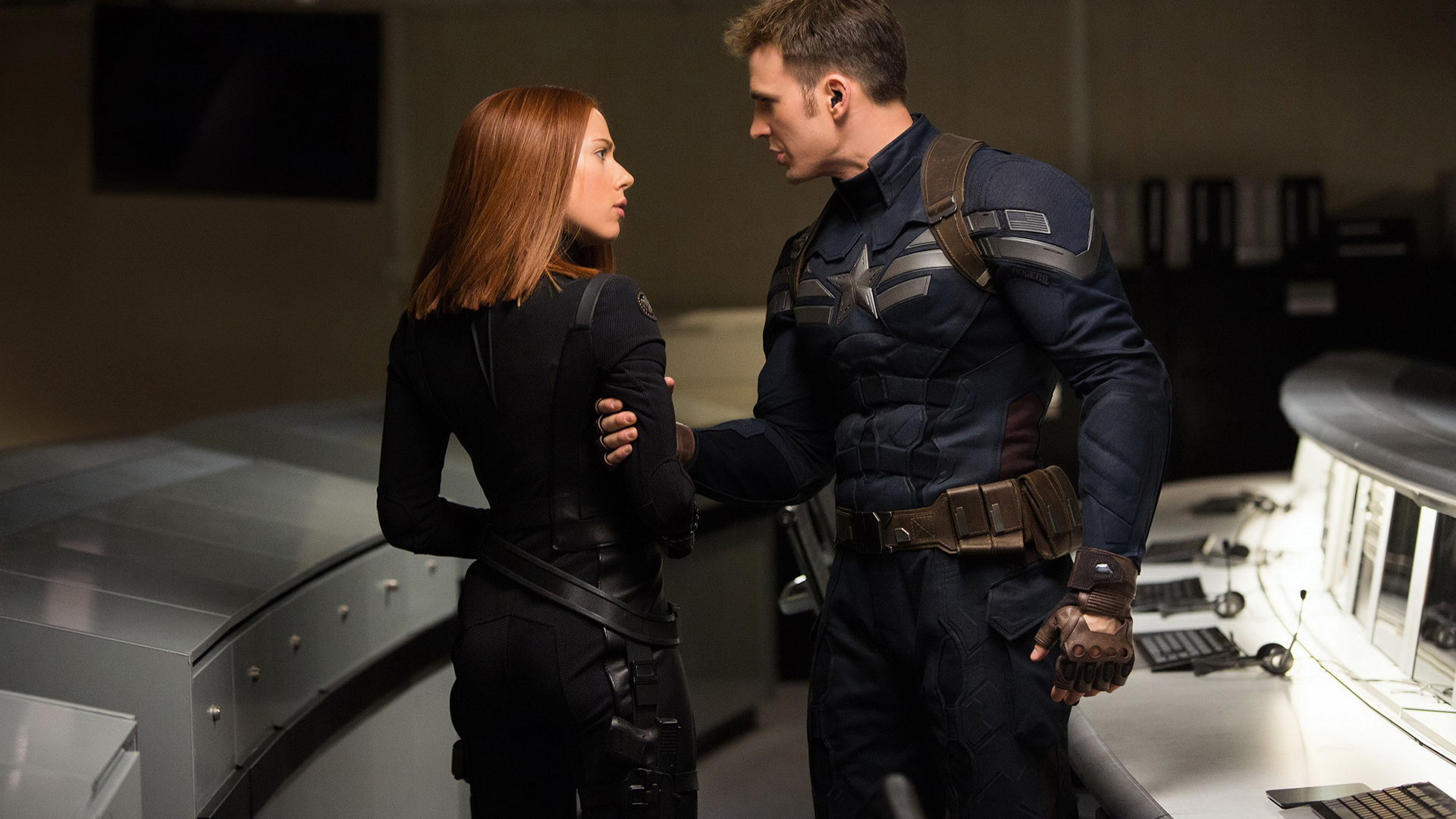 Ah the Good Old Days of Natasha and OOC Manhandling-Steve
