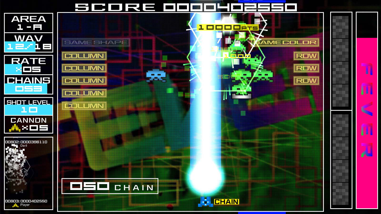 Space Invaders Extreme and Groove Coaster are bound for Steam screenshot