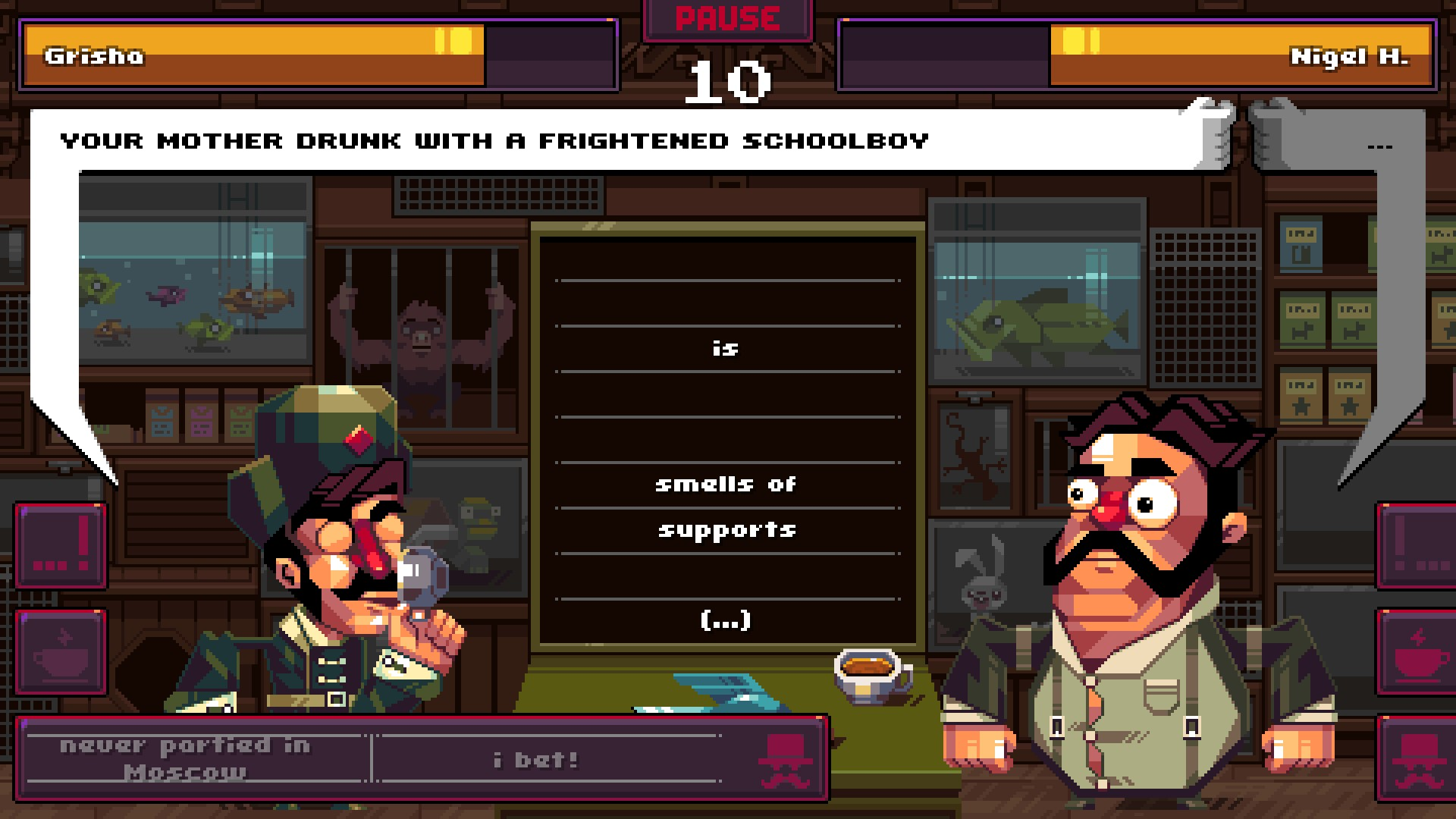 Insult your dumb friends on Switch with Oh...Sir!! The Insult Simulator screenshot