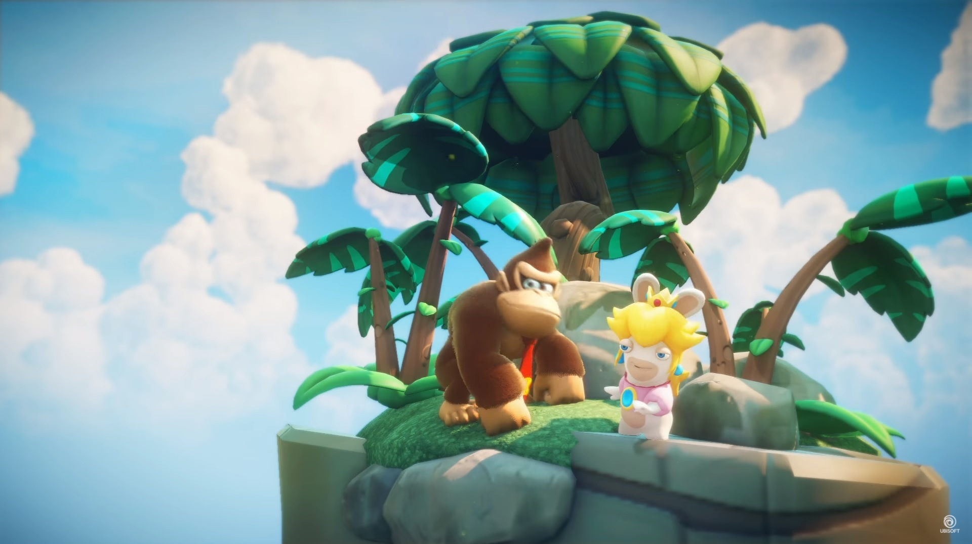 Donkey Kong is joining Mario + Rabbids Kingdom Battle as a playable hero screenshot