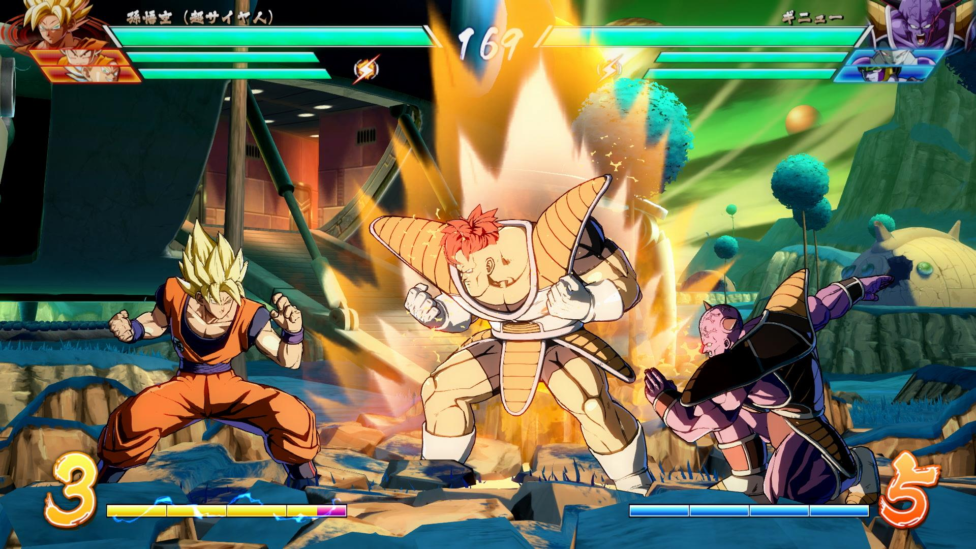 Dragon Ball FighterZ's open beta is ready to download screenshot