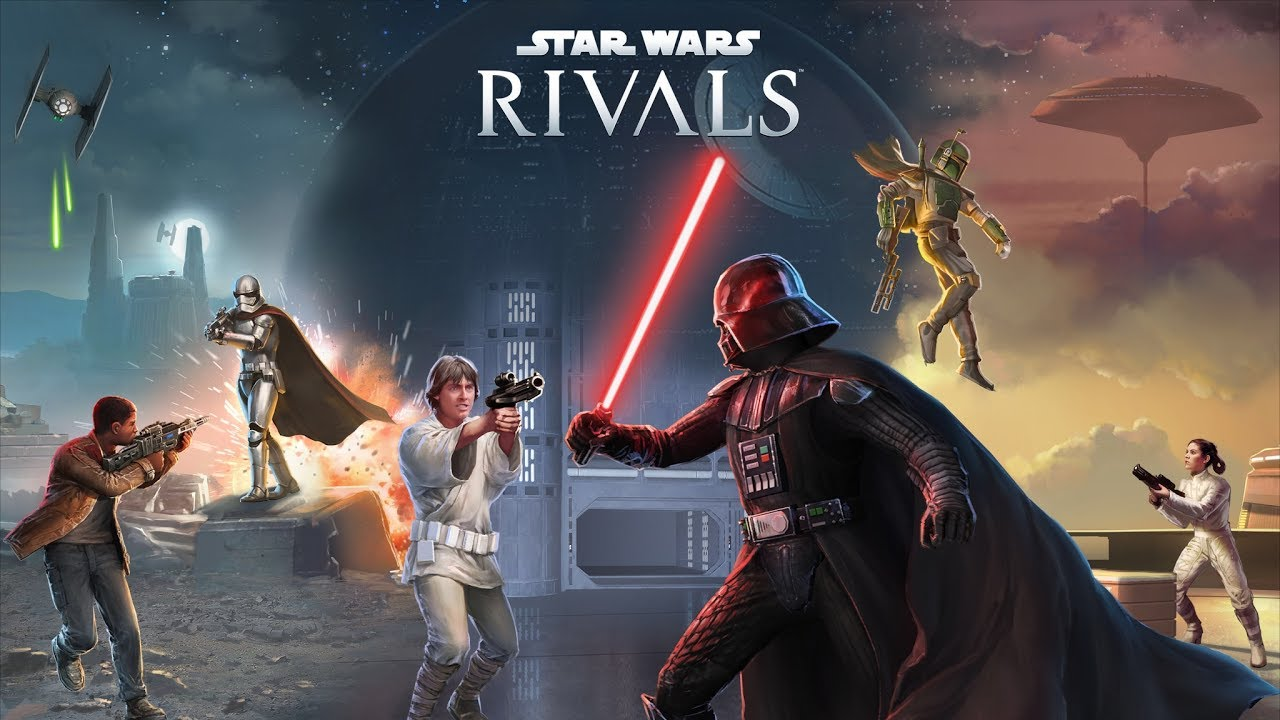 Disney is releasing a new Star Wars multiplayer shooter...for mobile devices... screenshot
