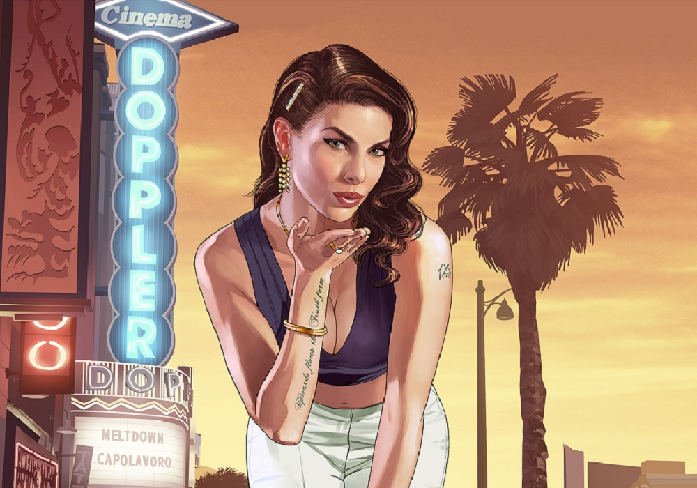 2013's Grand Theft Auto V is back atop the UK Charts screenshot