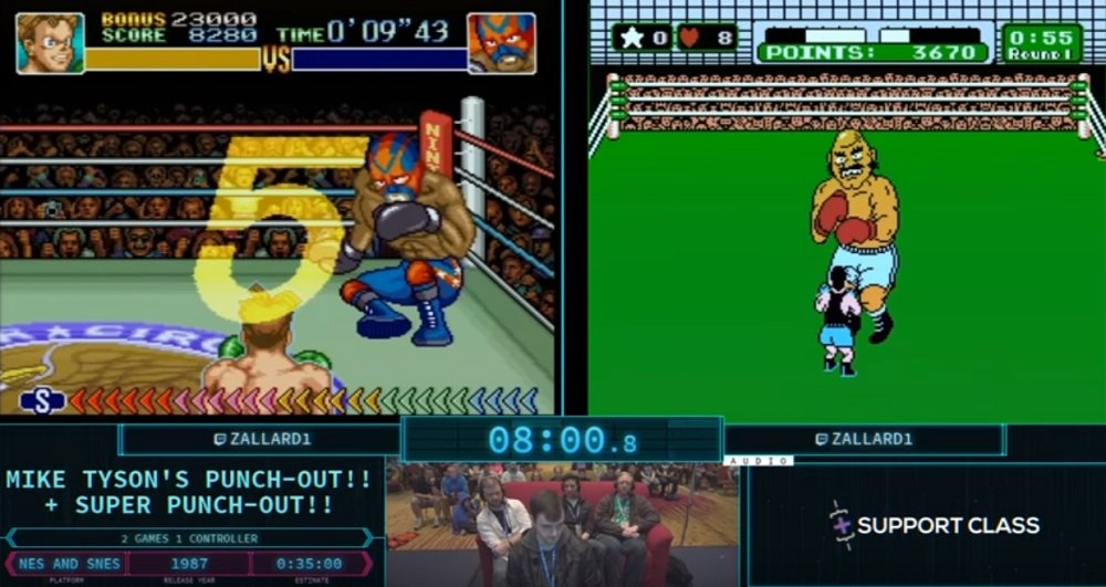 AGDQ runner defeats two Punch-Out!! titles simultaneously screenshot