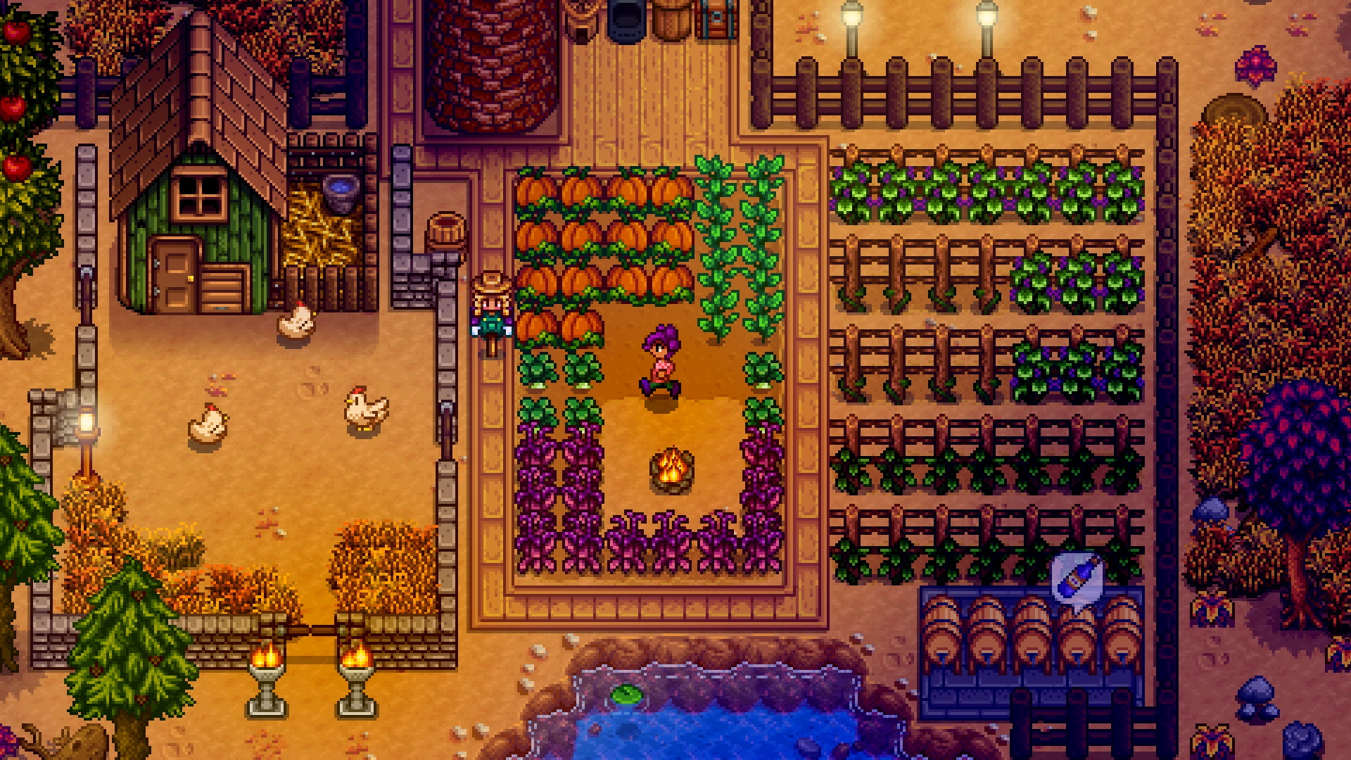 Stardew Valley's multiplayer update will feature local and