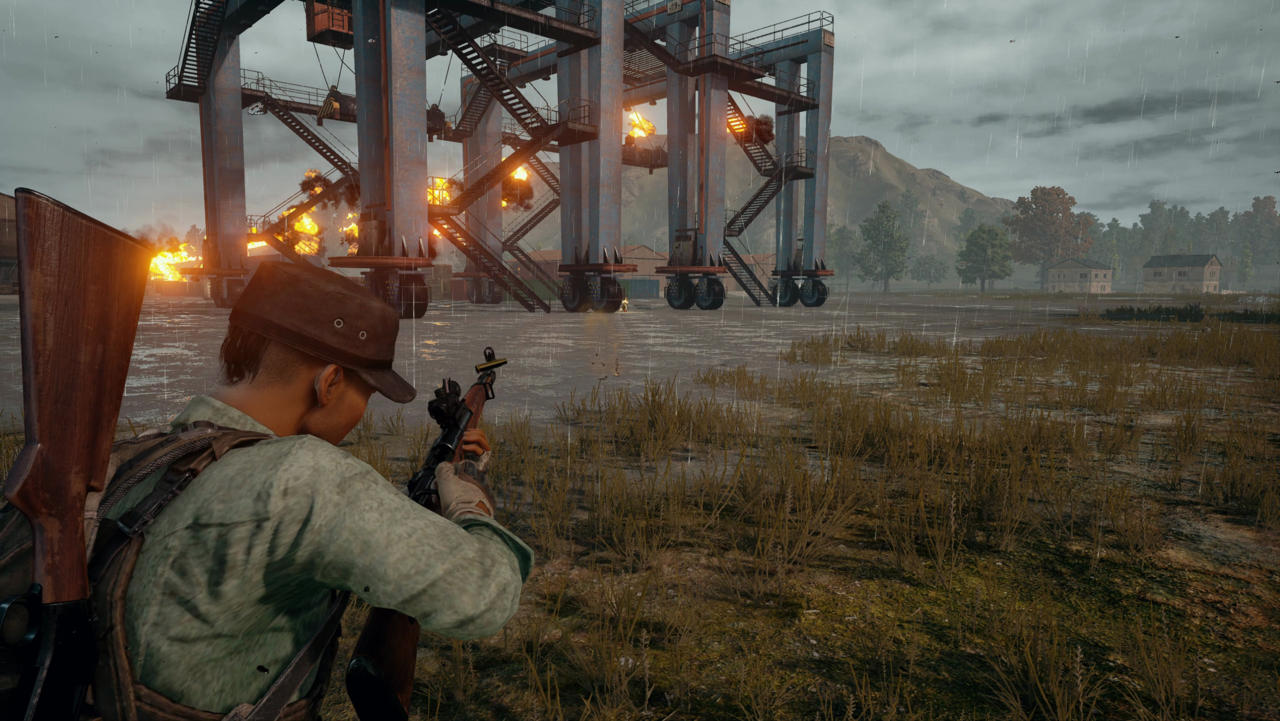 PUBG on Xbox One has a new controller layout to make some things a little more intuitive screenshot
