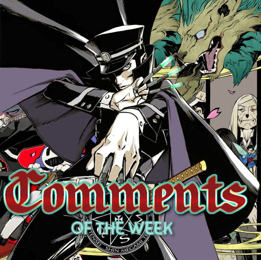 Comments of the Week 34: I'd like to be on Comments of the Week! screenshot