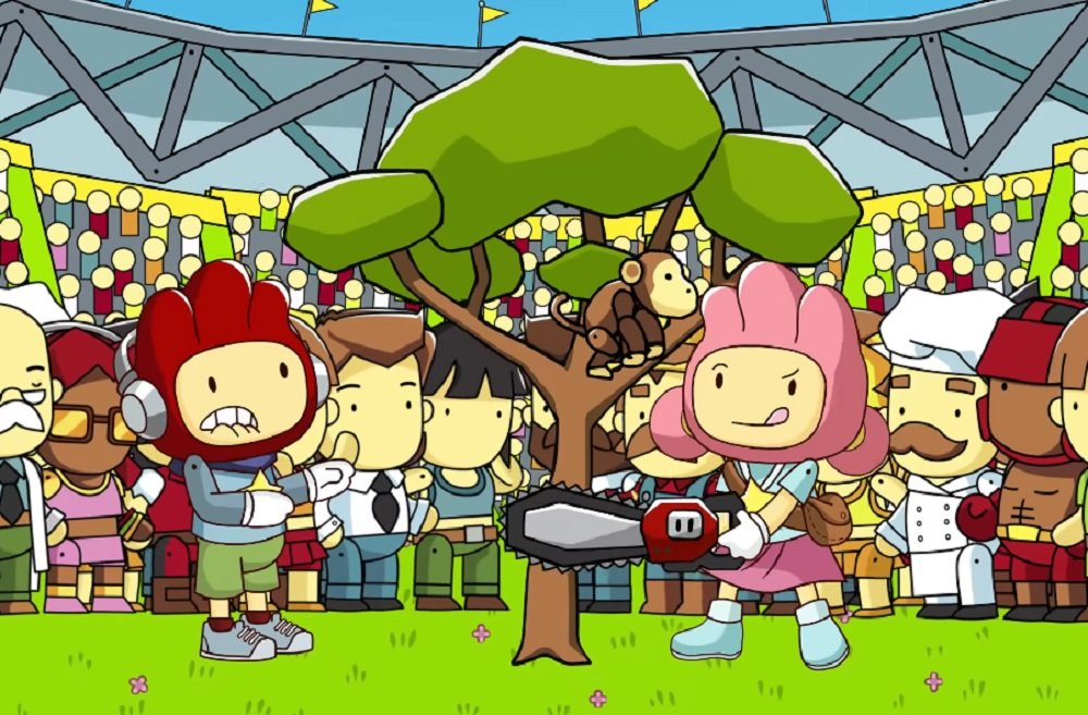 Scribblenauts Showdown finally confirmed for PS4, Xbox One and Switch screenshot