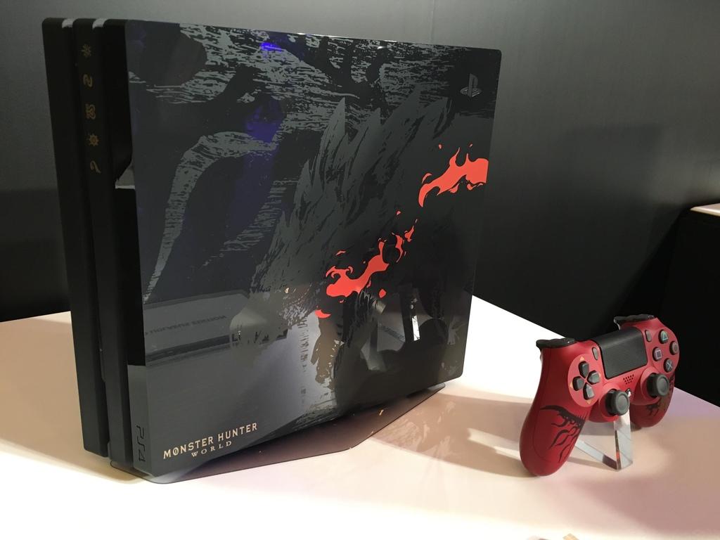 That Sweet Monster Hunter World Ps4 Pro Is Releasing Worldwide