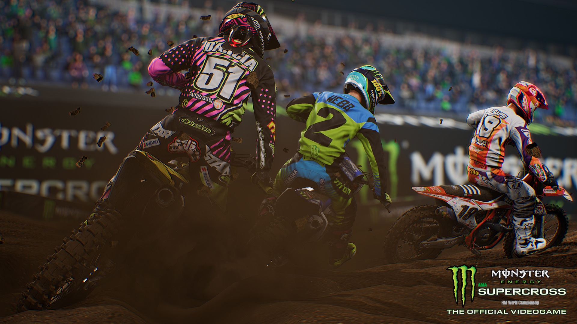 Monster Energy Supercross' track editor is exactly what I am looking for screenshot