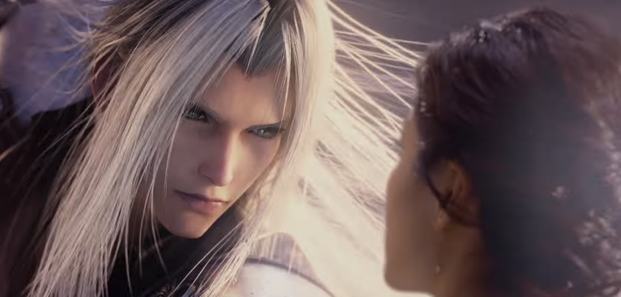 Watch Cloud and Sephiroth battle it out in the new Final Fantasy Universal Studios ride screenshot