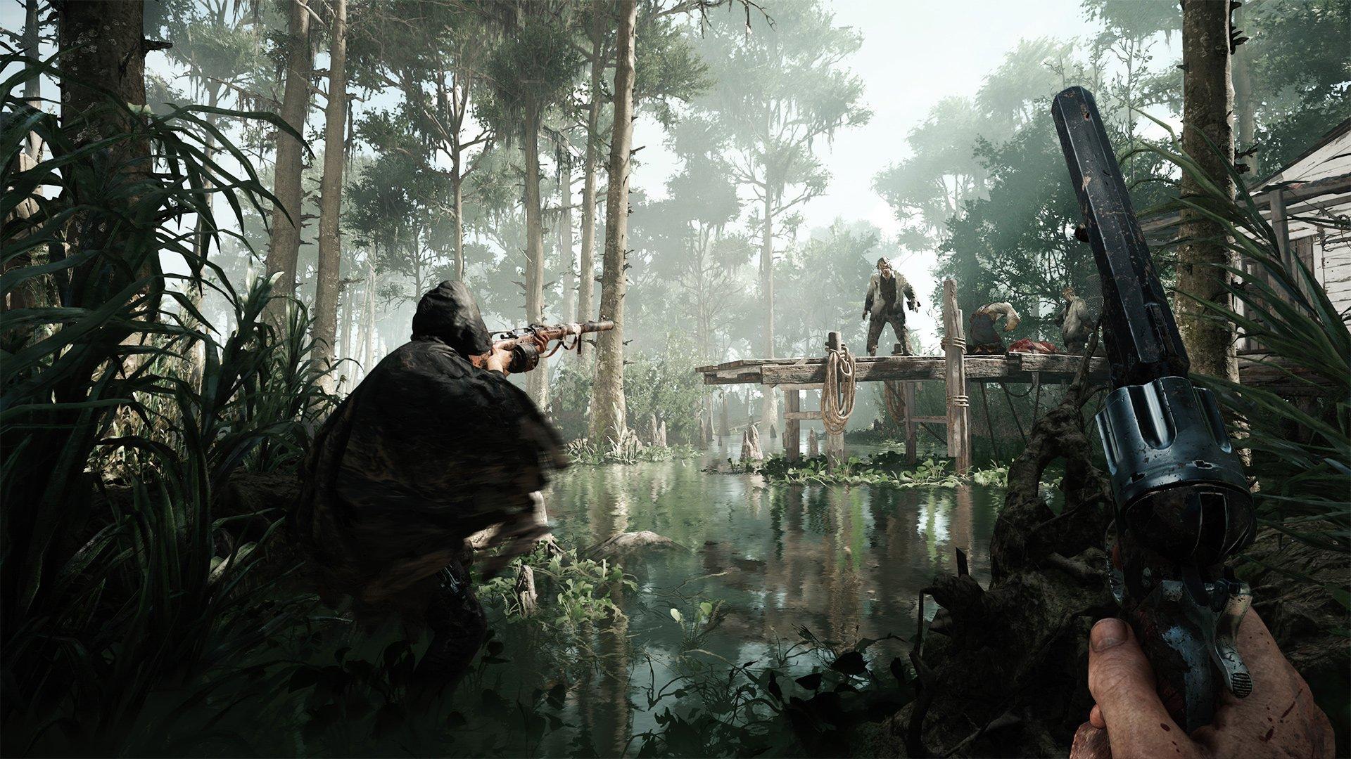 Competitive monster shooter Hunt: Showdown starts its alpha this month screenshot