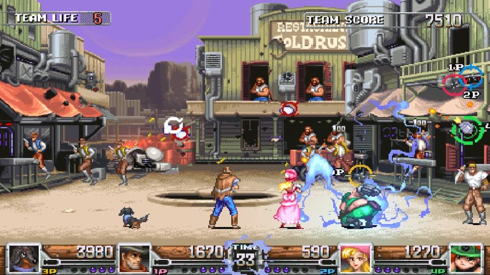 Taiwan ratings board lists Wild Guns: Reloaded for Nintendo Switch screenshot