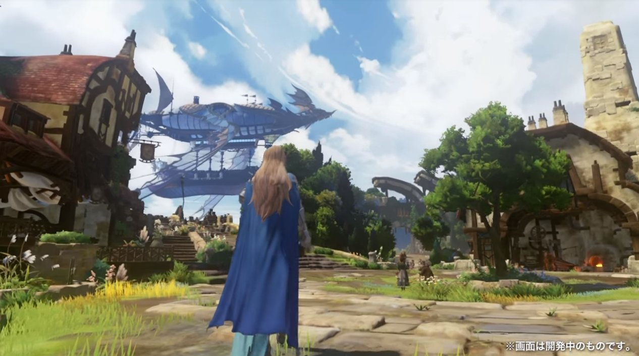 Check out a few really pretty minutes of Granblue Fantasy PS4 gameplay screenshot