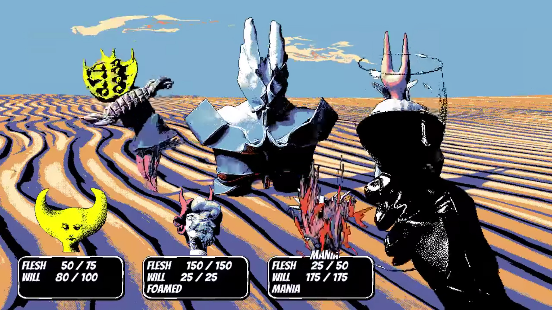 Hylics 2 is a total fever dream and I love it screenshot