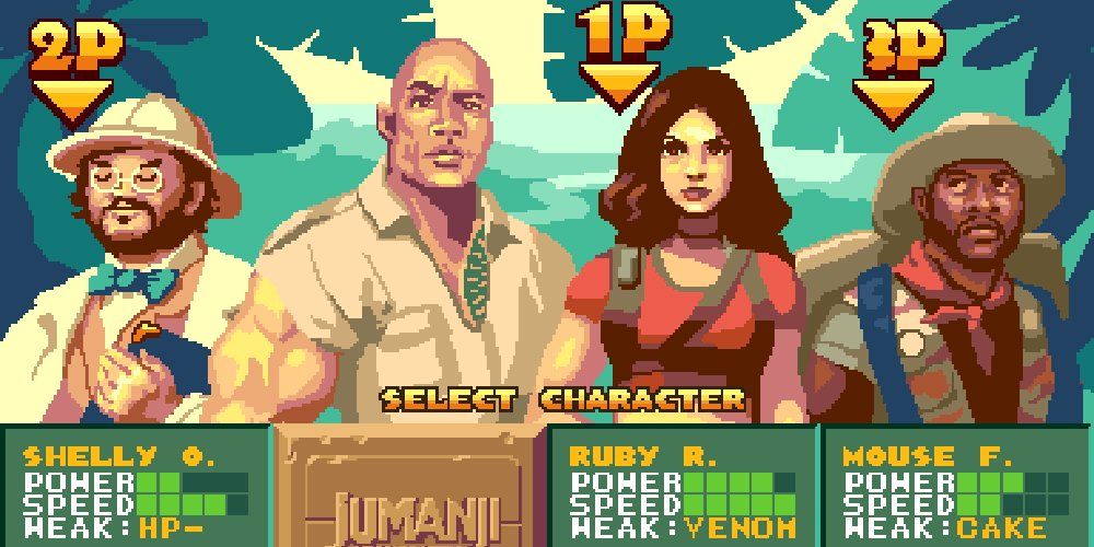 Jumanji re-imagined as Capcom brawler would make a lot of money screenshot