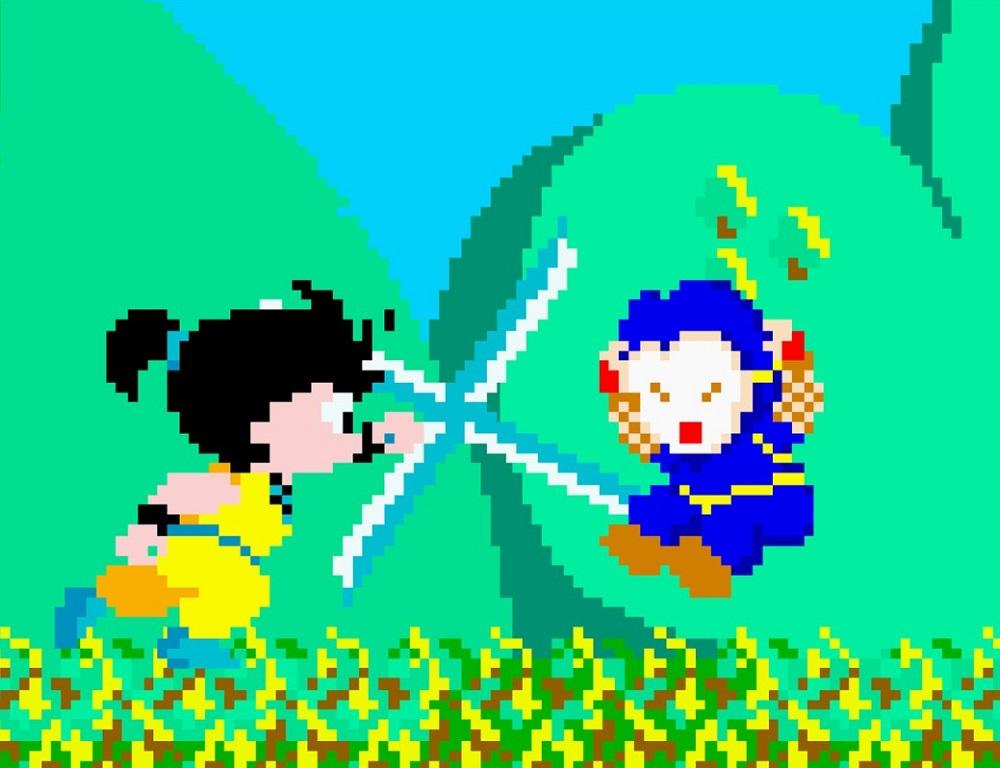 Kid Niki Radical Ninja is back in action on PS4 & Switch screenshot