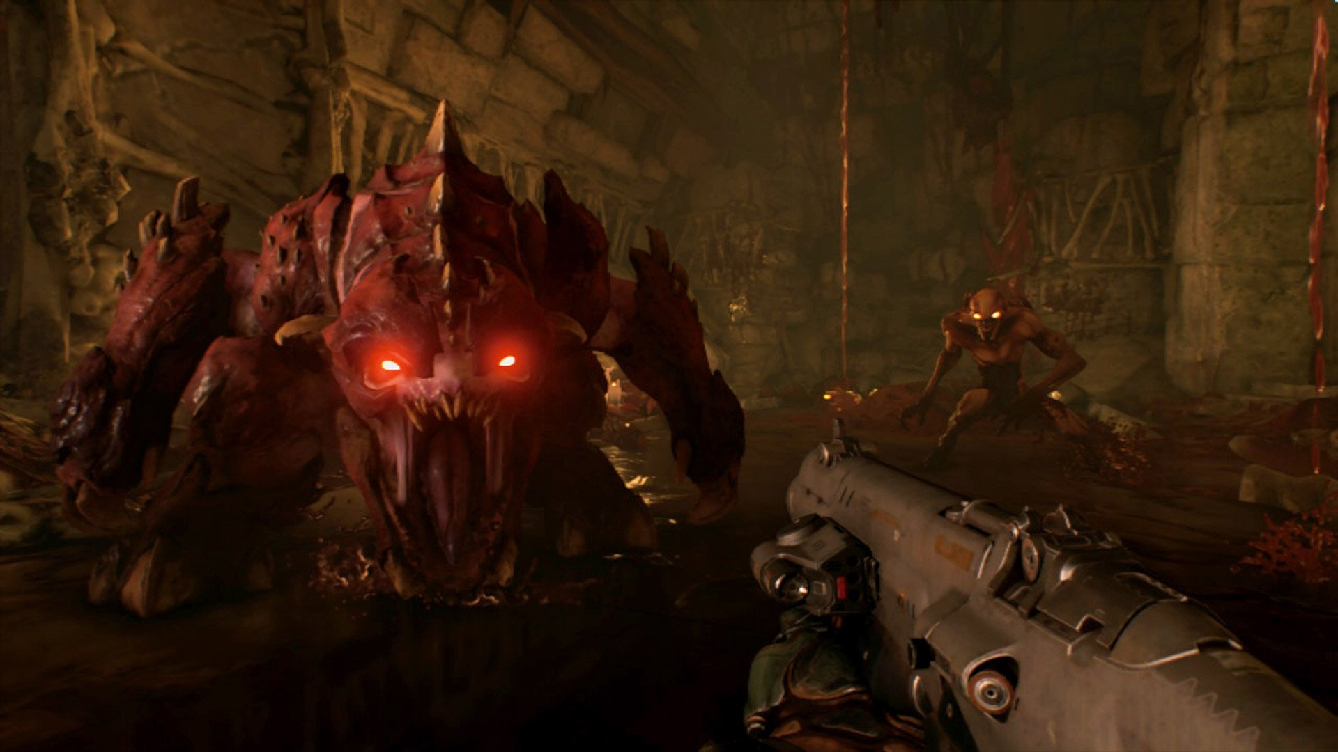 Save a little on Doom in this Switch eShop sale screenshot