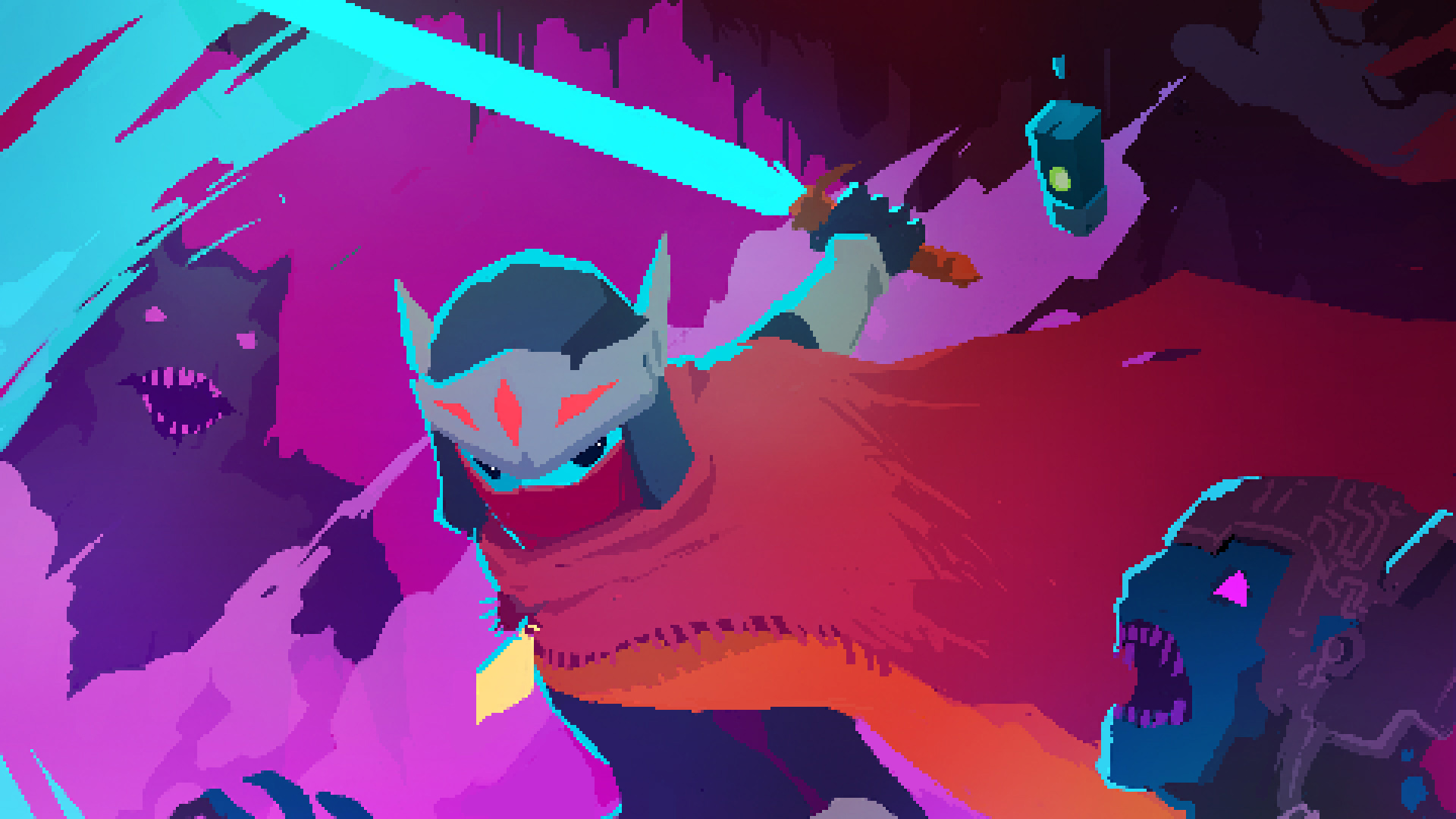 Square Enix Montreal cancels game led by Hyper Light Drifter's Teddy Dief screenshot