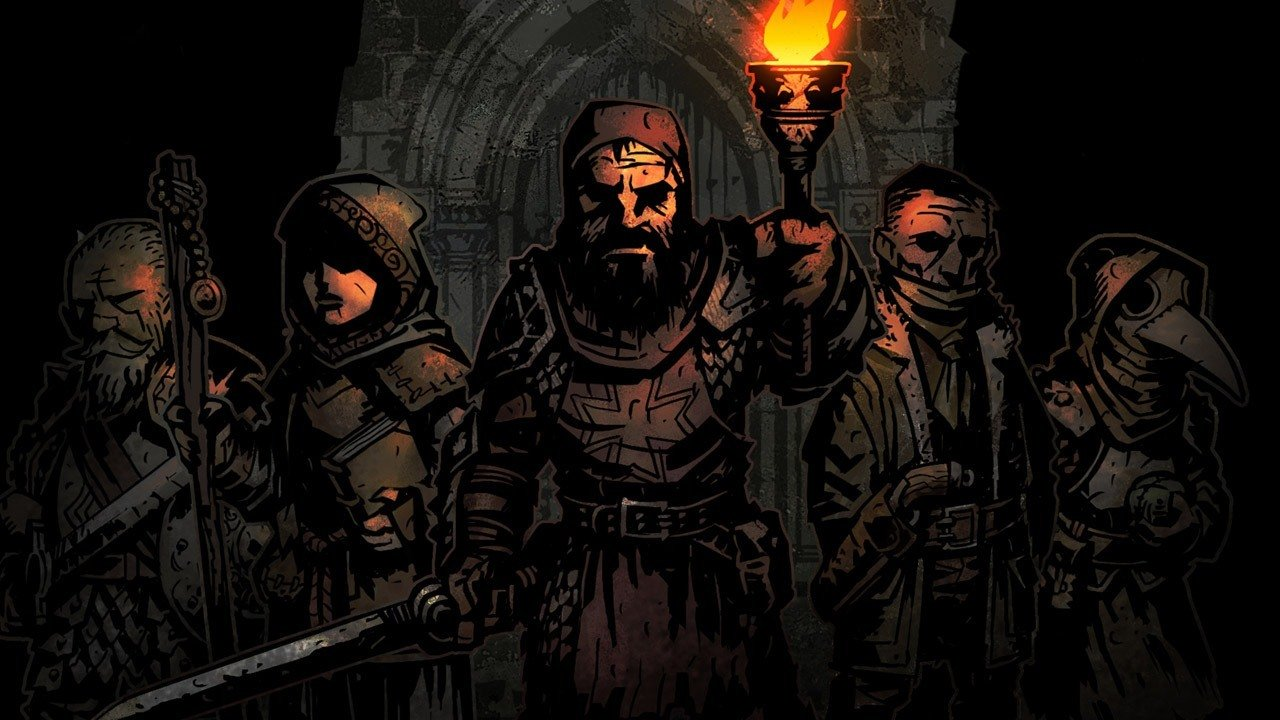 Darkest Dungeon attempted to crush my soul on the Switch screenshot