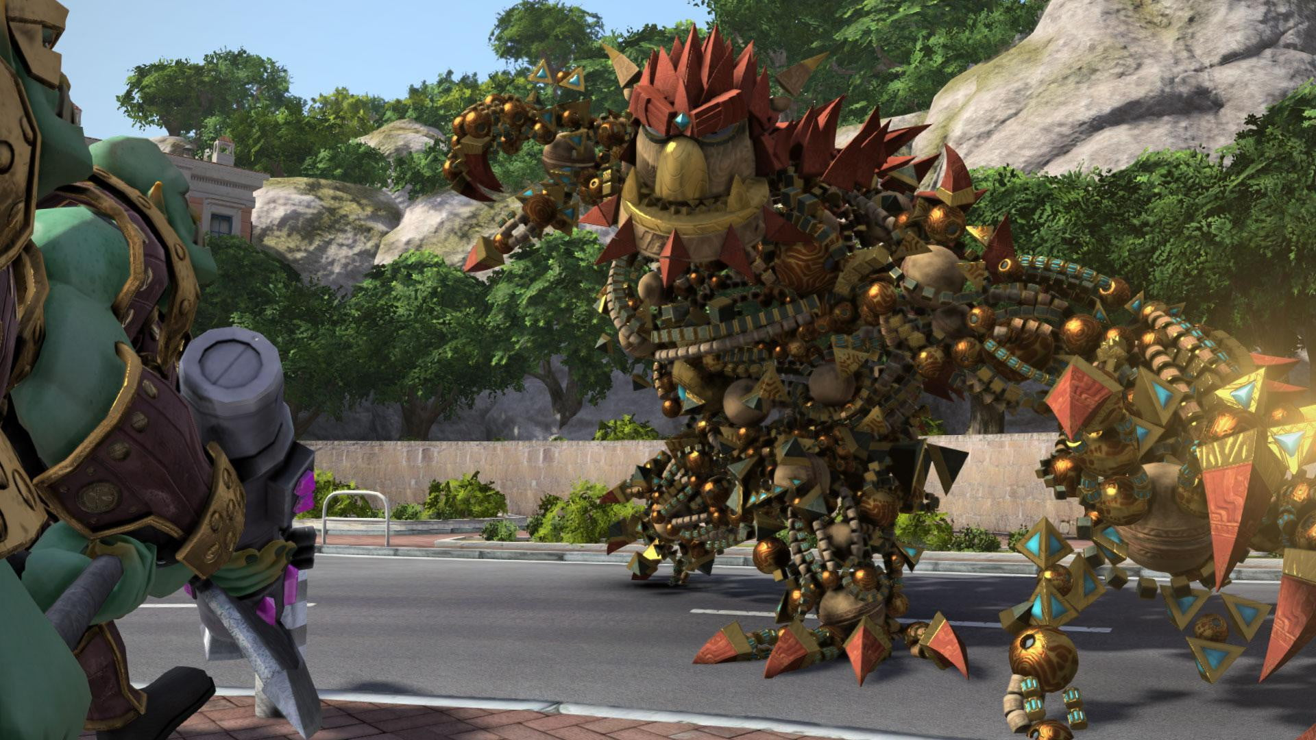 February's PlayStation Plus lineup includes the G.O.A.T. Knack screenshot