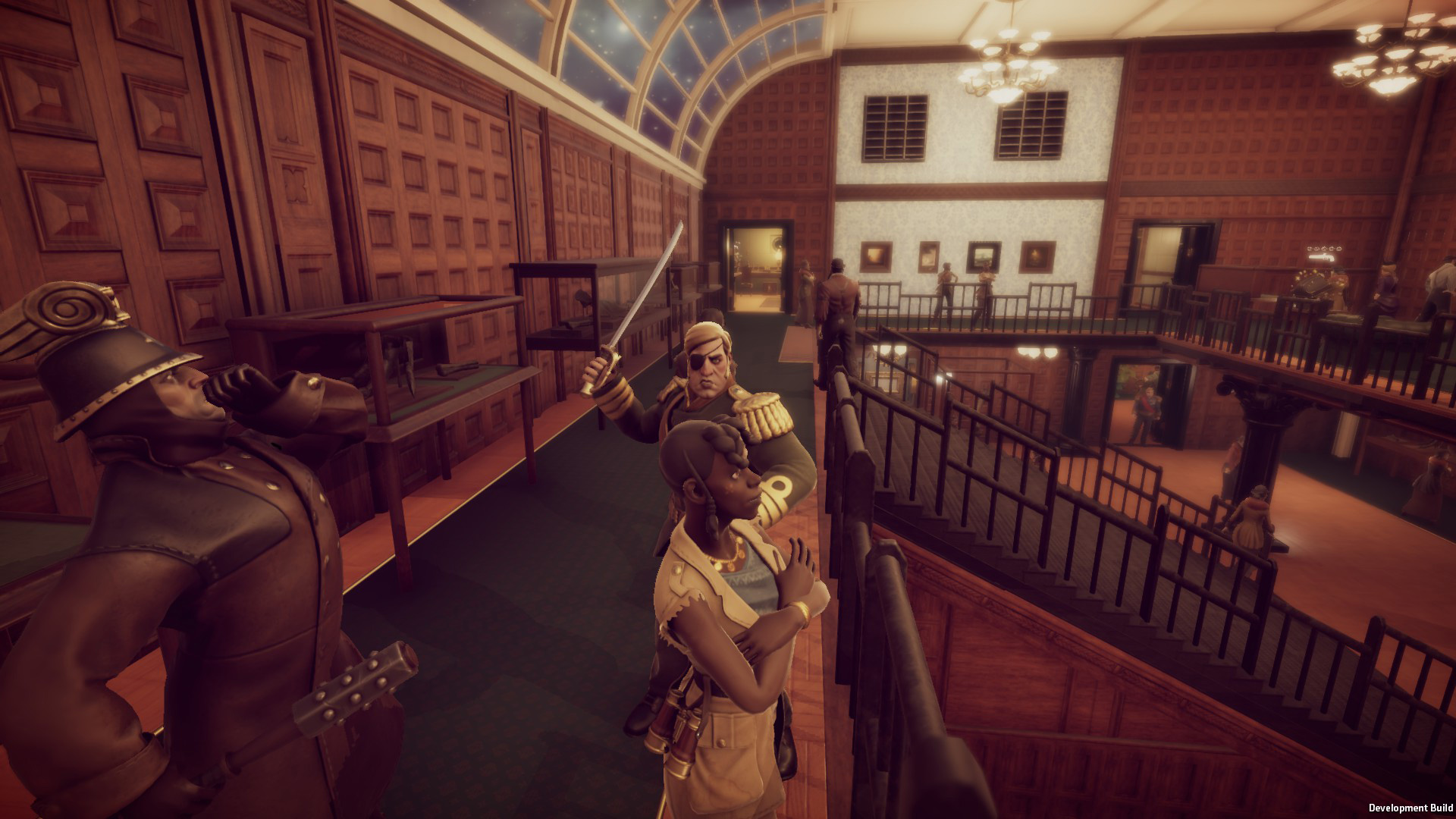 Murderous Pursuits is one big murder-mystery party screenshot