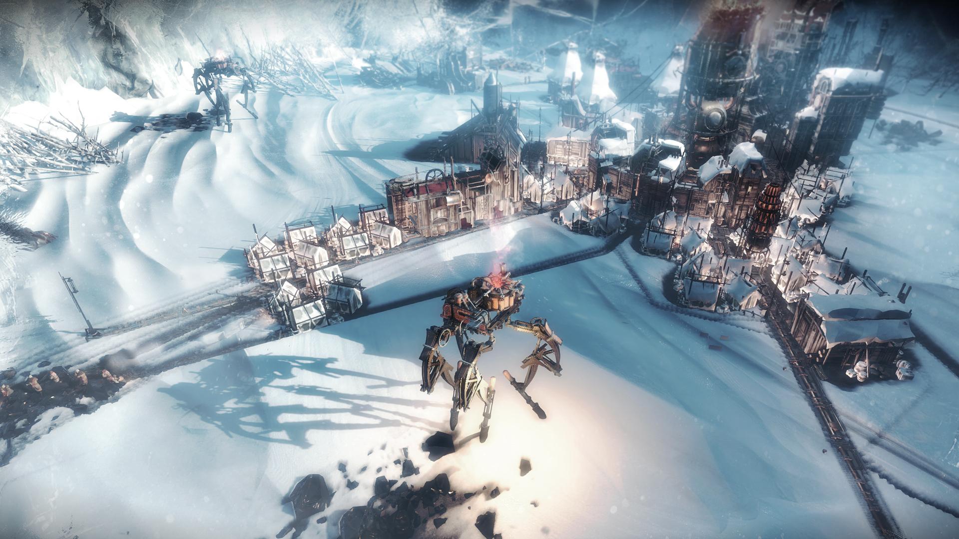 Frostpunk unleashes terrifyingly helpful automatons upon populace screenshot