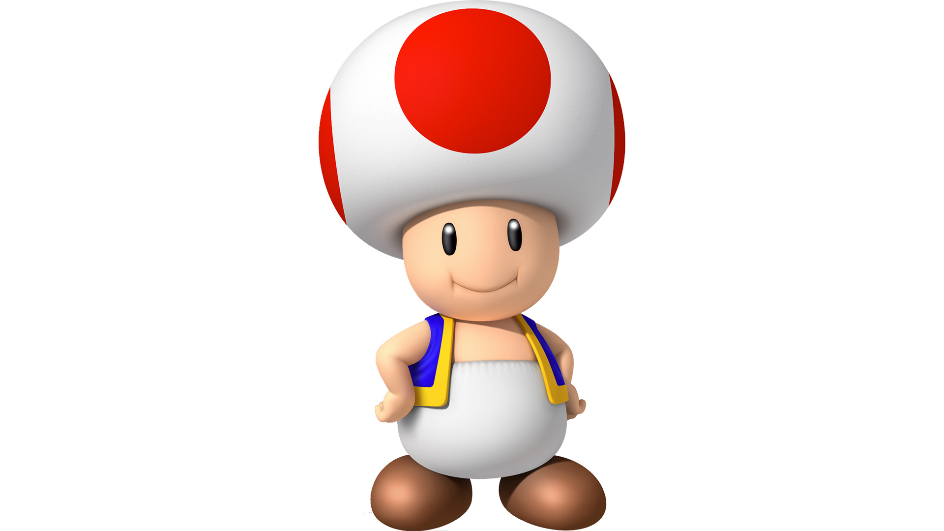 Toad isn't wearing a hat, Nintendo confirms screenshot