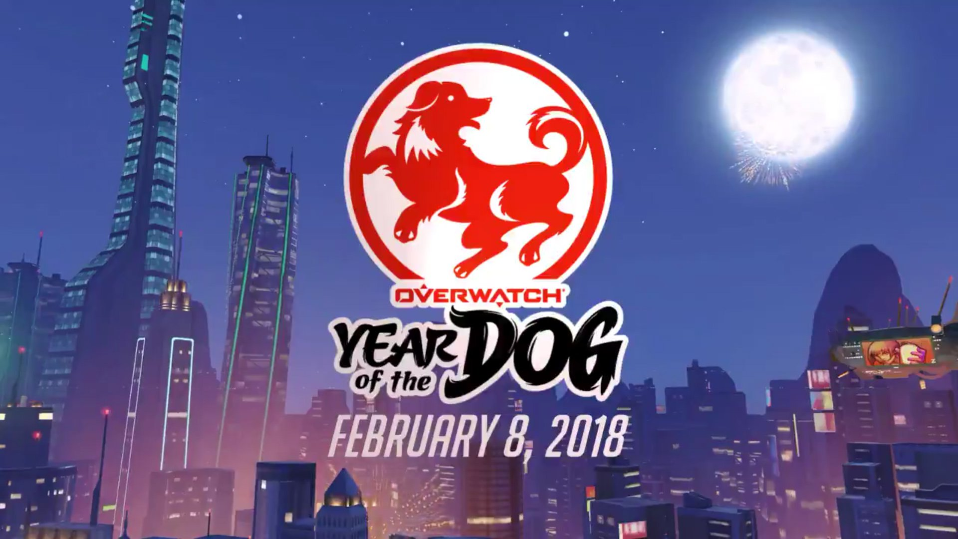 This week's Year of the Dog event in Overwatch will bring a new map screenshot