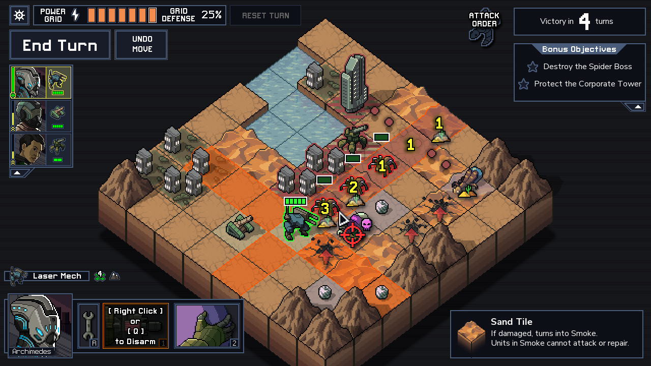 FTL creator's tactical mech game Into the Breach hits PC this month screenshot