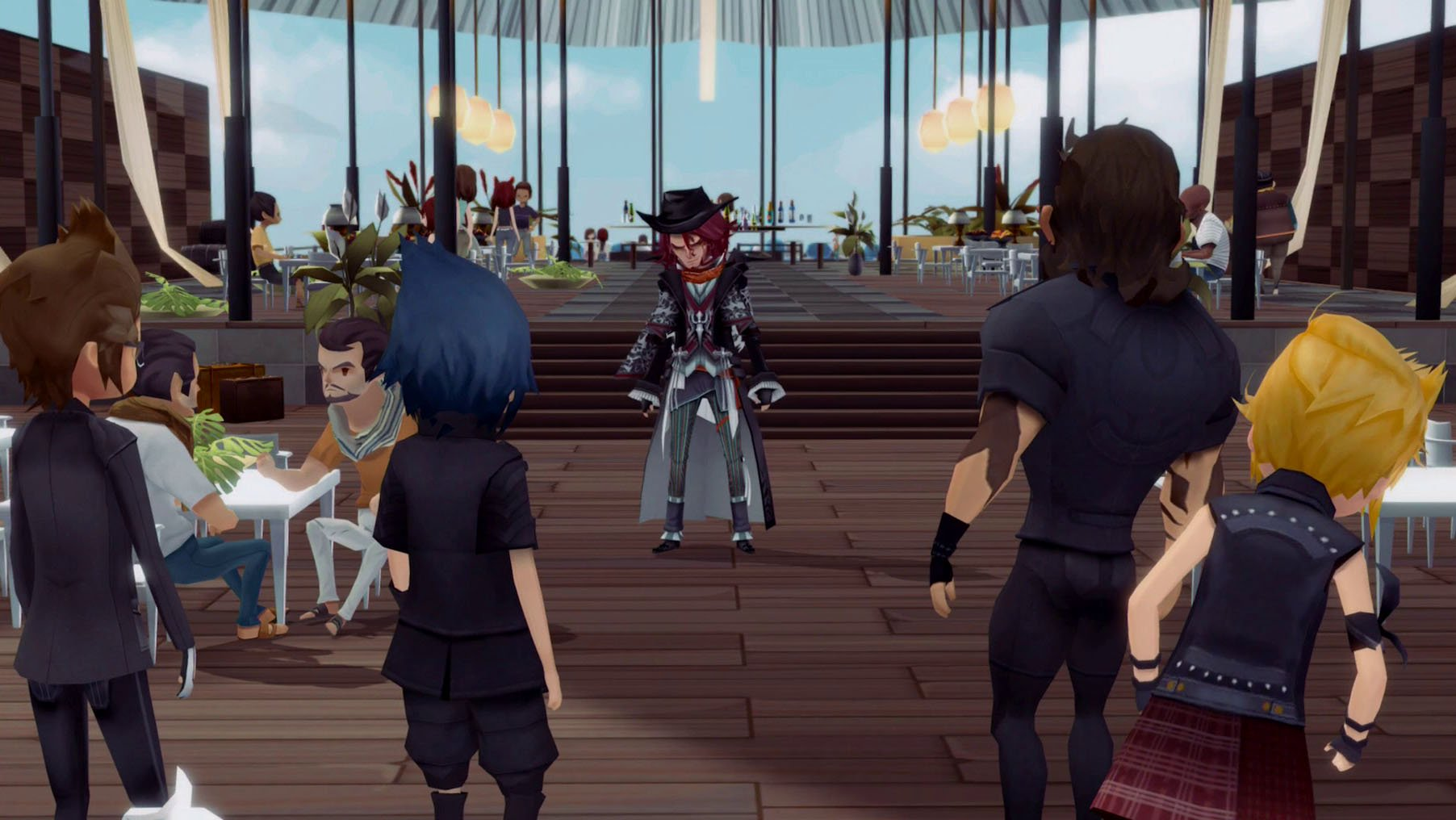 Final Fantasy XV: Pocket Edition is out today and it's kind of awesome screenshot