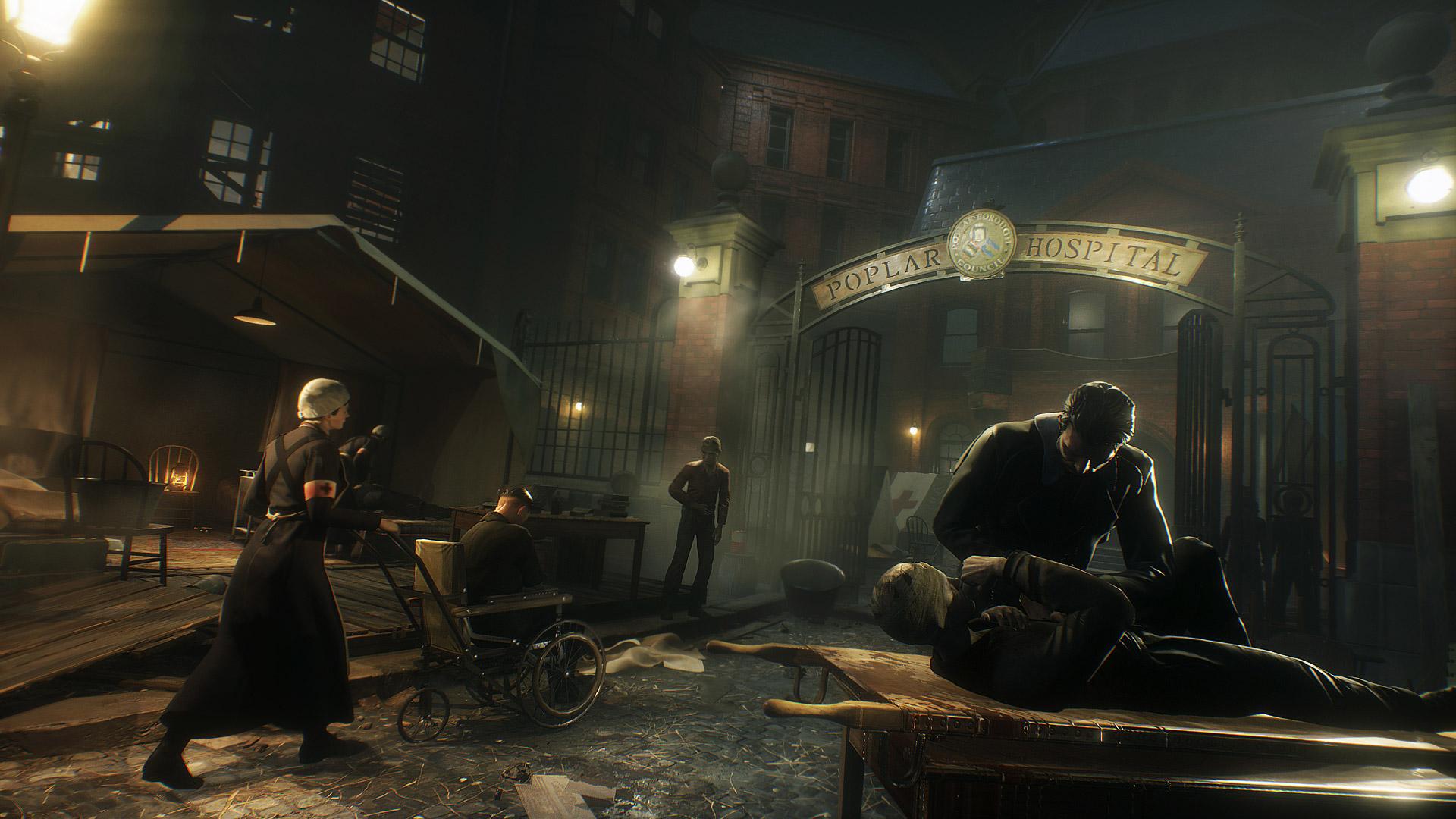 Vampyr finally sees the light of day on June 5 screenshot