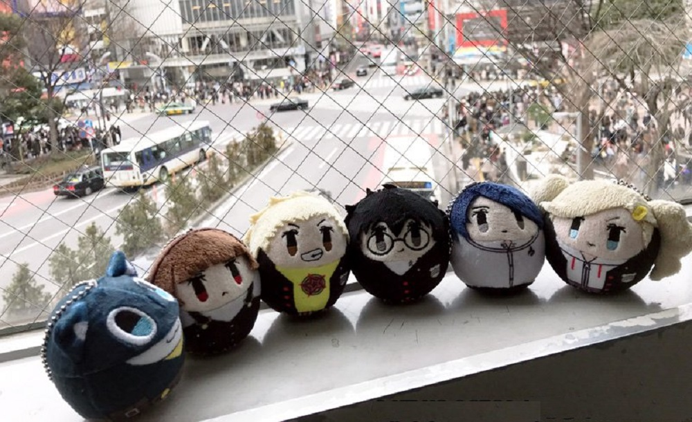 I'd love a set of these cute Cocorot Persona 5 plushies screenshot