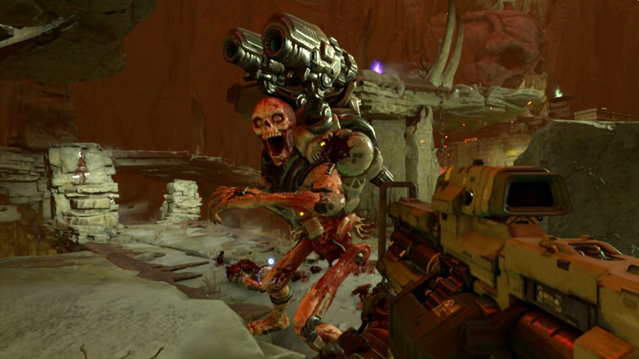 Doom's audio issues on Switch will be fixed soon screenshot