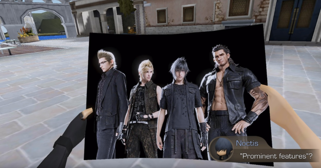 Final Fantasy XV: Pocket Edition has a cute joke poking fun at the chibi art style screenshot