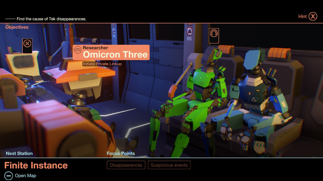 Sci-fi text adventure Subsurface Circular coming to Nintendo Switch screenshot