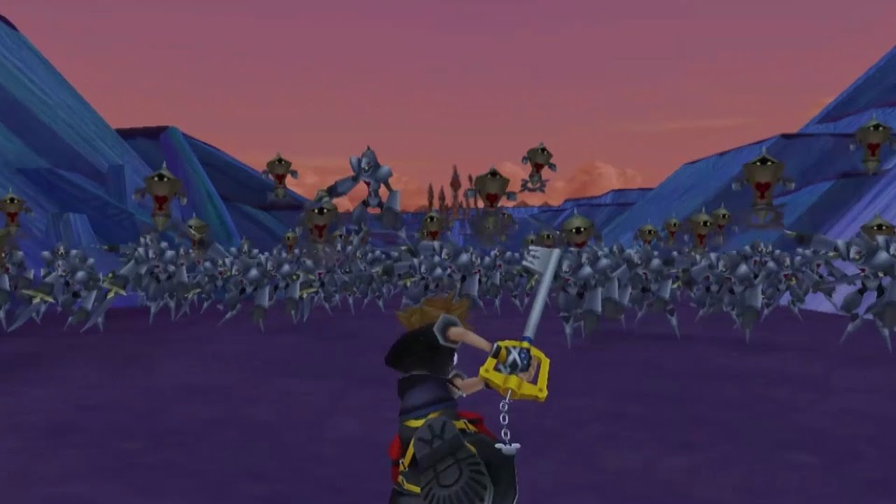 Heel-Turn: Kingdom Hearts screenshot