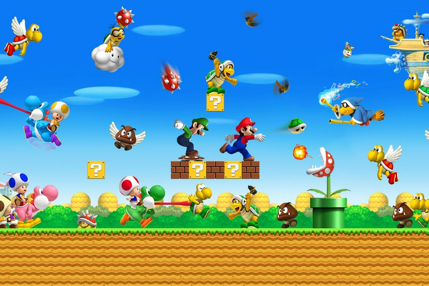 Dark Horse's Mario encyclopedia is coming West in October screenshot