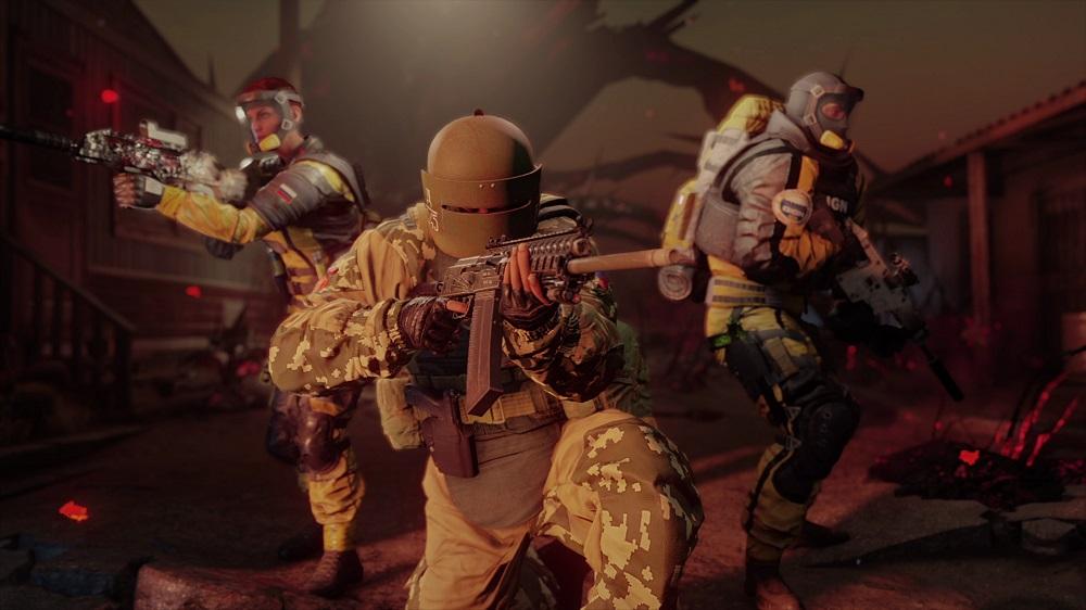 Resultado de imagen para rainbow six siege outbreak types of zombies