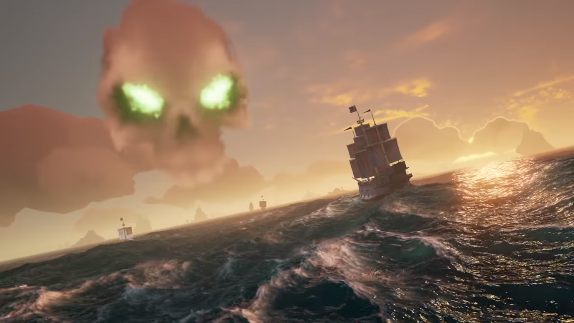 Sea of Thieves has skull forts and they sound intense screenshot