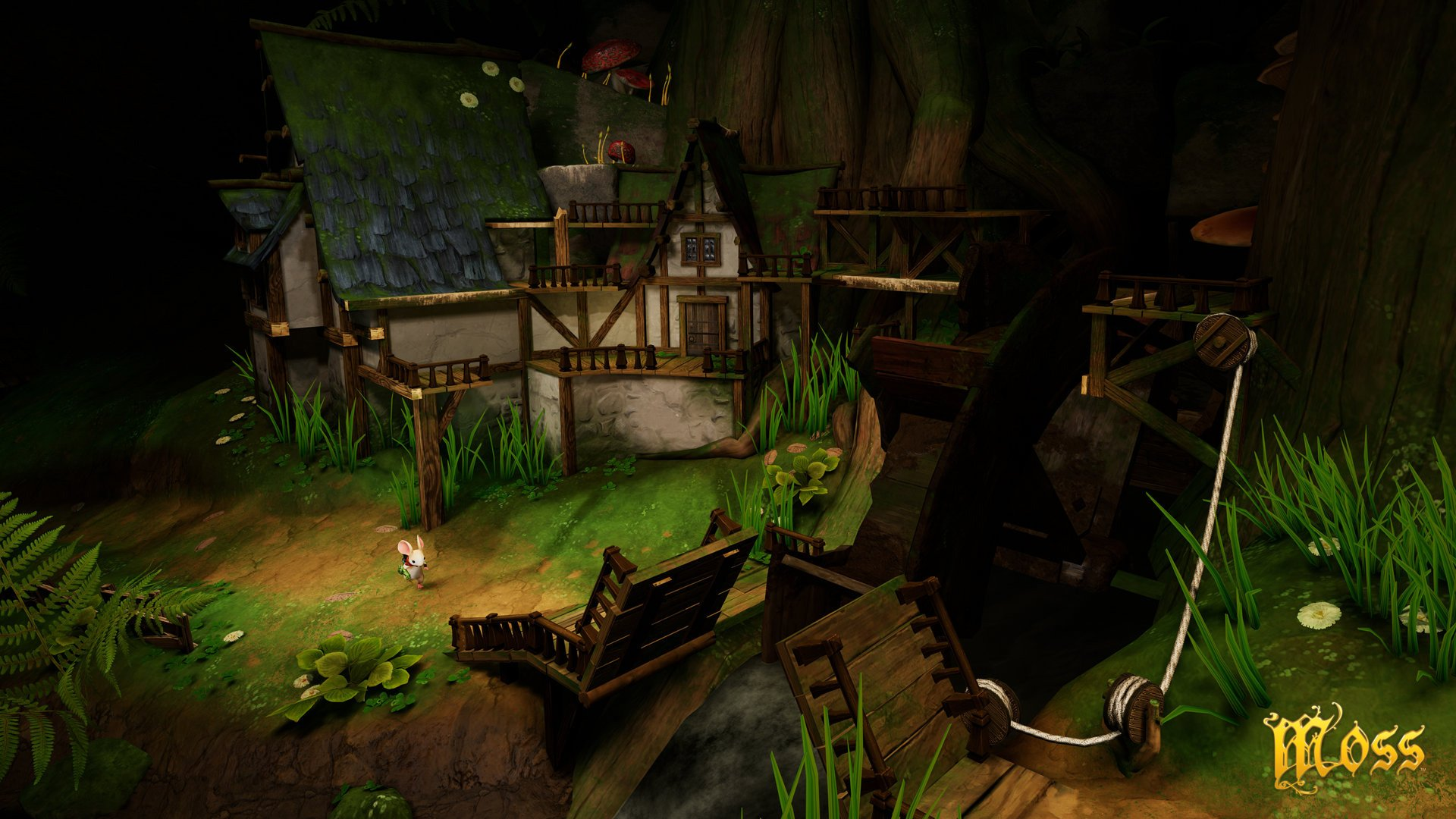 Moss review for PlayStation VR
