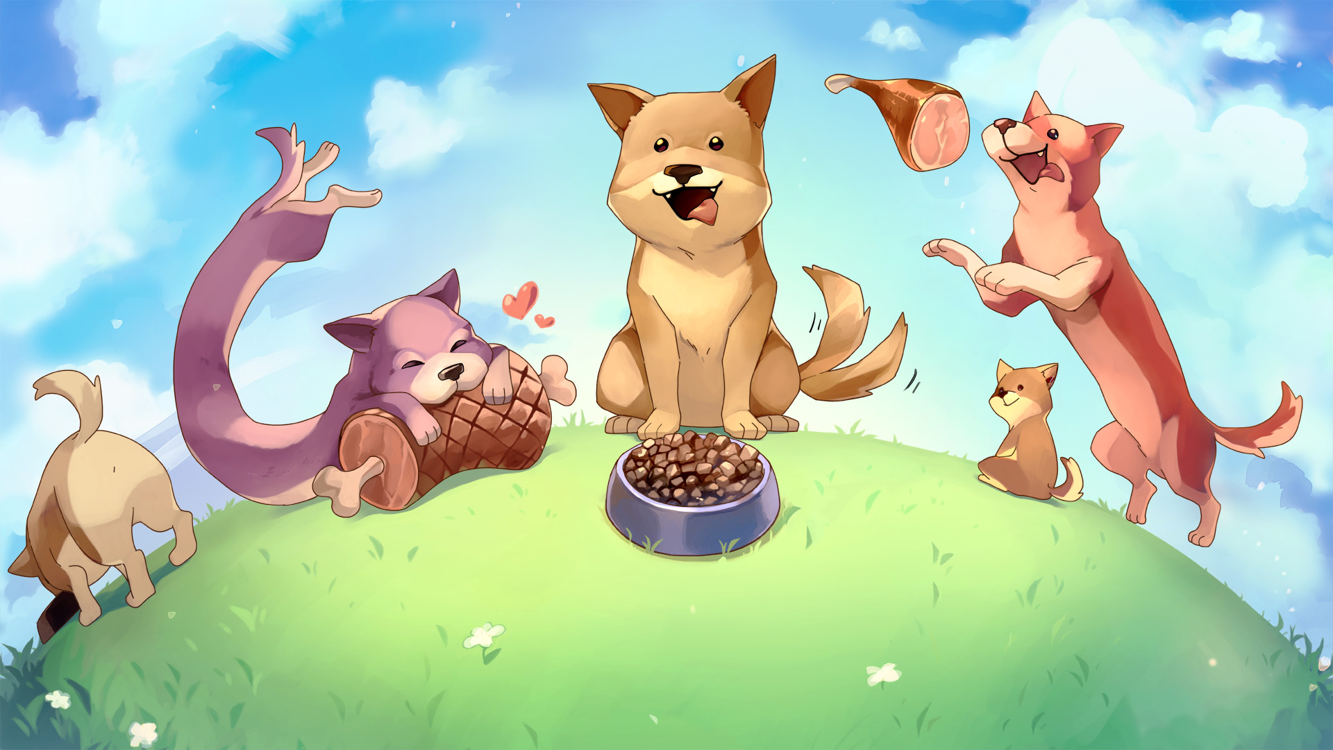 Review: Puzzle Puppers screenshot